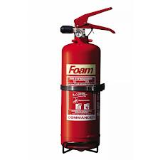 2 Litre Foam Fire Extinguisher with Bracket