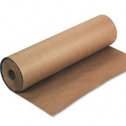 Heavy Duty Brown Kraft Wrapping Paper Roll 600mm wide