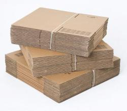 A4 size cardboard boxes - 6 deep