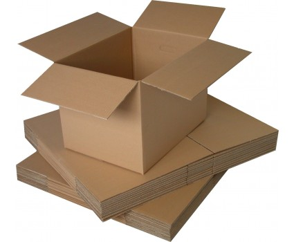 Extra Large Double Wall Removal Cardboard Boxes Cube 24 x 18 x 18