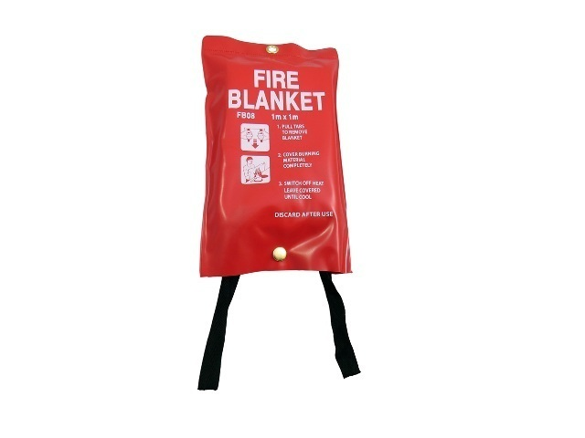 Fire Blanket Large 1m x 1m, Quick Release, CE Approved