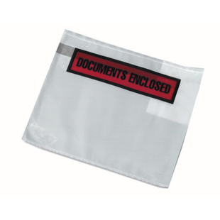 Document Enclosed Wallet Envelopes - Printed, A6 size