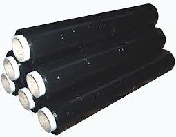 Black Stretch Shrink Cling Film Pallet Wrap 200m x 400mm, 17Mu