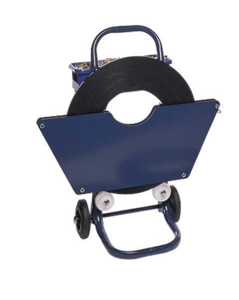 Heavy Duty Pro-Series Steel Pallet Strapping Dispenser Trolley