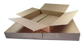 Medium Shallow Single Wall Cardboard Boxes 18 x 12 x 3