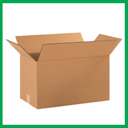 Large Single Wall Cardboard Boxes 22 x 14 x 14