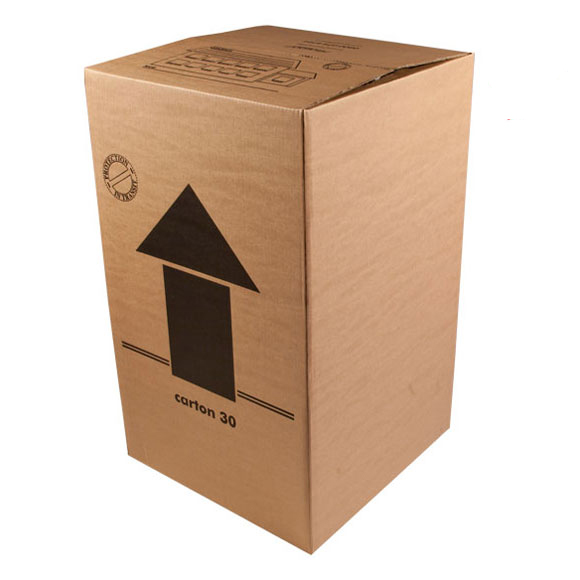 Extra Large Double Wall Removal Cardboard Boxes - 18 x 18 x 30