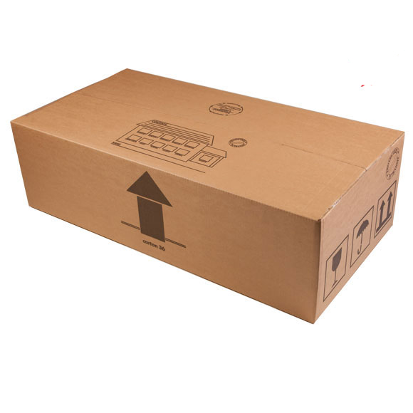 Large TV / Monitor Double Wall Cardboard Boxes 36 x 19 x 11