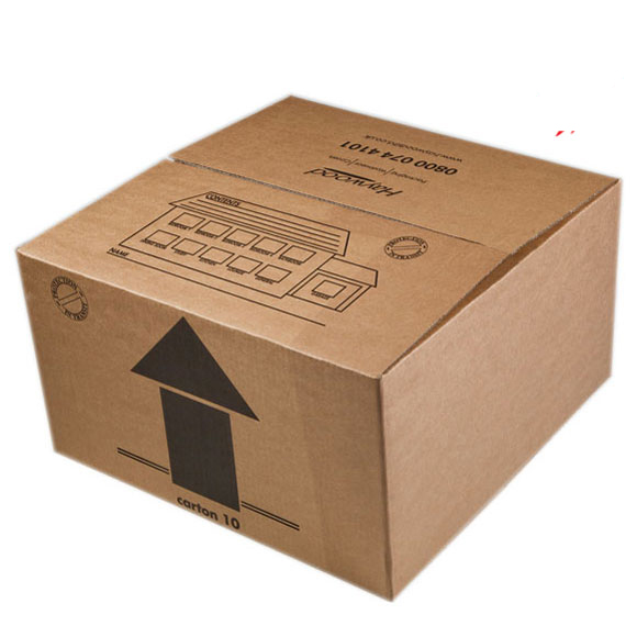 Small Double Wall Removal Carboard Box - 18 x 18 x 10