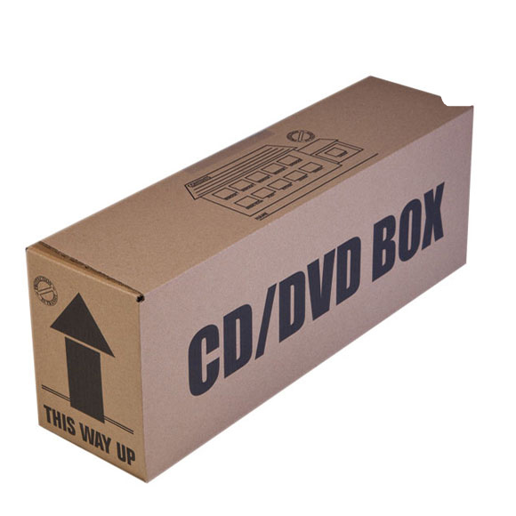 CD and DVD Storage Boxes, hold up to 40