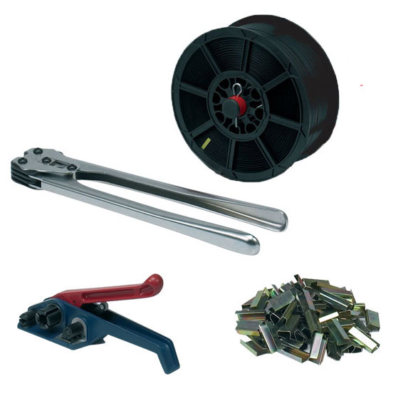 Heavy Duty Pro-Series Hand Pallet Strapping Banding Kit