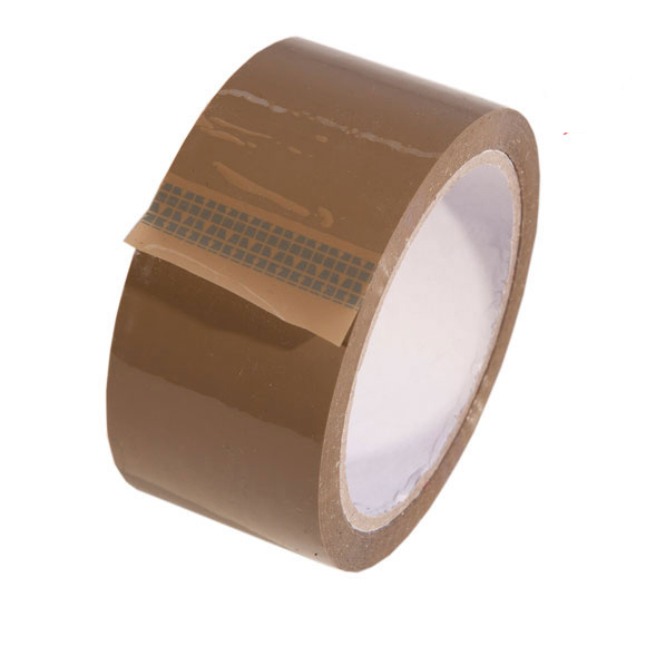 Brown High Performance Vinyl Packing Tape 48mm x 66m
