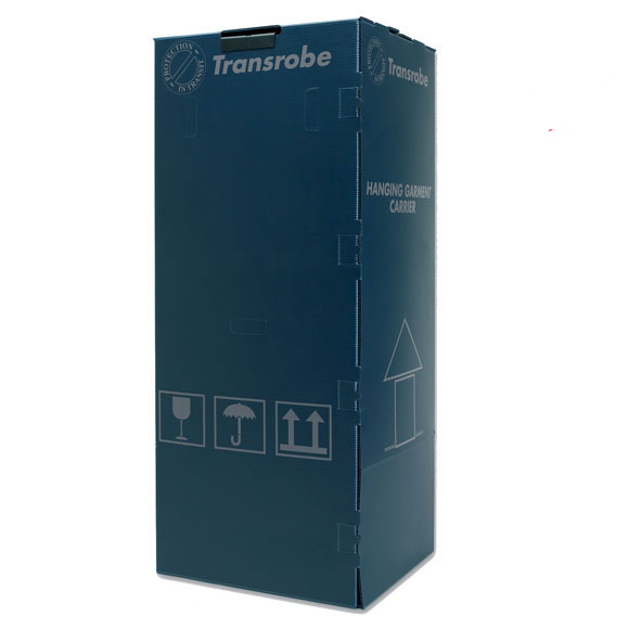 Blue Plastic Wardrobe Boxes Professional, multi-use