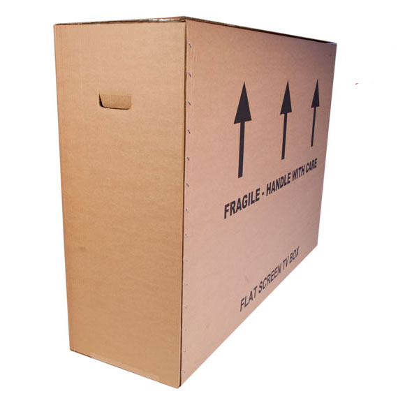 Extra Large TV / Monitor Double Wall Cardboard Boxes, up to 55 TV