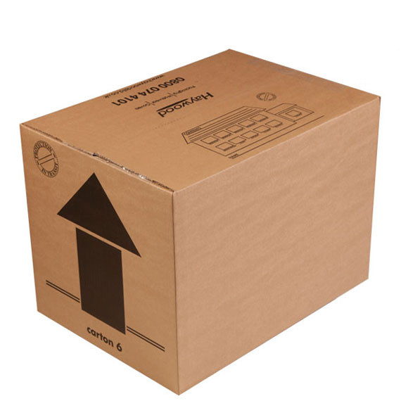 50 Pack Medium Double Wall Cardboard Boxes 18 x 13 x 13
