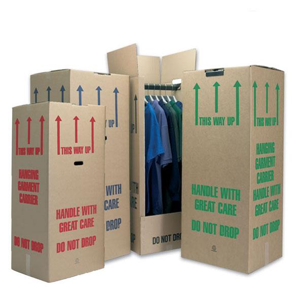 15 Pack Cardboard Wardrobe Boxes Standard (Short 40)