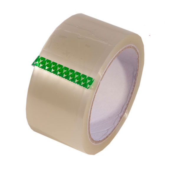 36 Rolls Clear High Performance Vinyl Packing Tape, 48mm x 66m