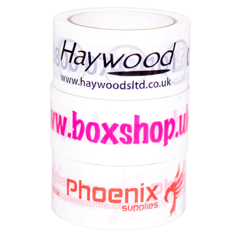 Printed Vinyl Tape (One Colour)