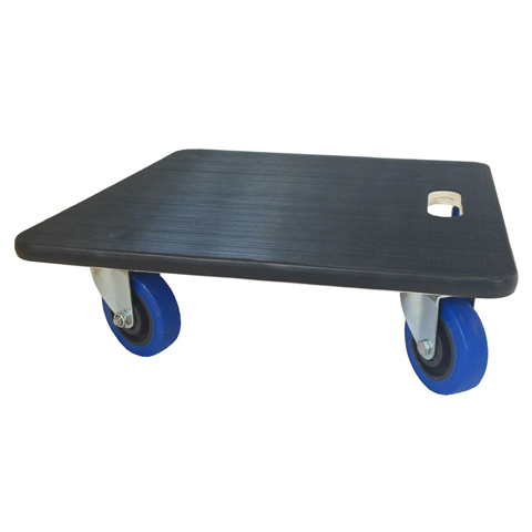 Dolly Truck 4-wheel with rubber top, 19 x 19 x  5.5, maximum 500kg load