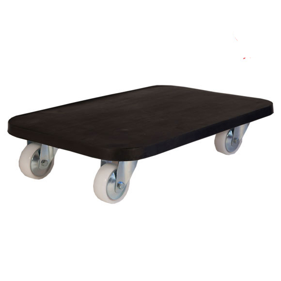 Dolly Truck 4-wheel with rubber top, 15 x 24 x 5.5 , maximum 300kg load