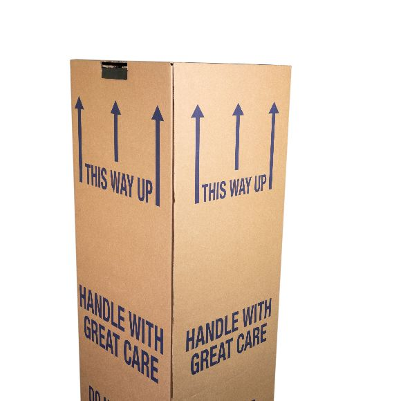 12 Pack Tall Cardboard Wardrobe Boxes Standard (48)