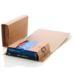 Book Wrap Postal Mailers, Size C1 small (216 x 154 x 55mm)