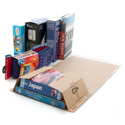 Book Wrap Postal Mailers, Size C2 (260 x 175 x 70mm)