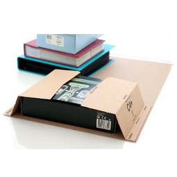 Book Wrap Postal Mailers, Size C4  (326 x 245 x 70mm) - Fits A4 books