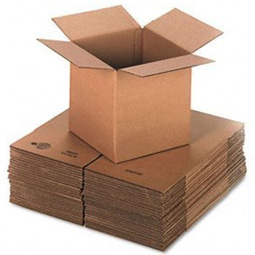 Large Double Wall Removal Cardboard Boxes Cube 16 x 16 x 16